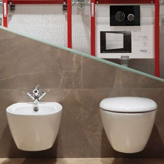 Toilet frames and drains
