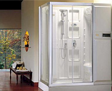 Steam saunas and shower boxes